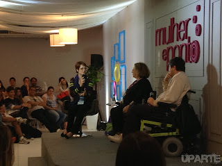 Palestra Mulher e Ponto na Bienal 2013