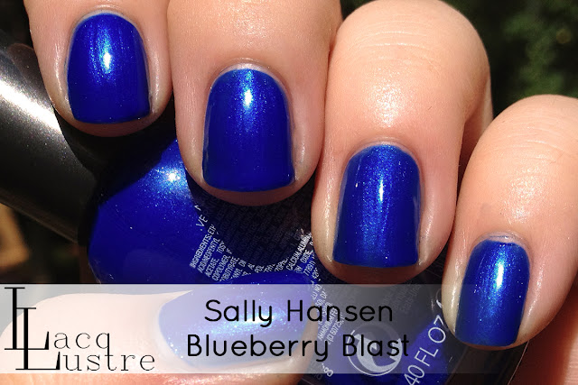 Sally Hansen Blueberry Blaze swatch