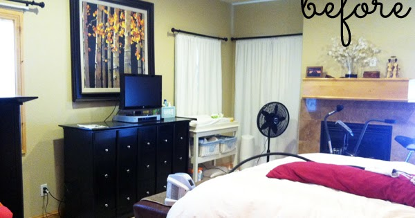 Simple Bedroom Design For Couple : decorating with style} Client Master Bedroom: Before Photos ...