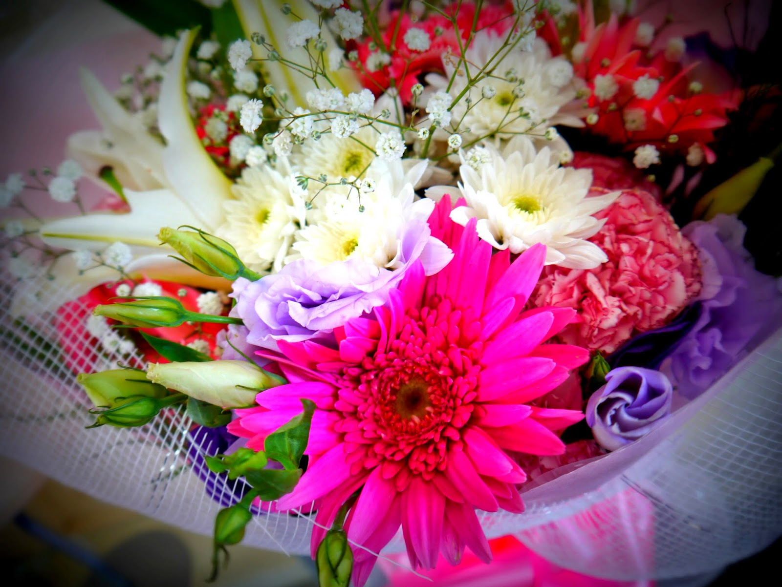 photo of anniversary bouquet