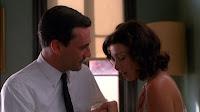 Don Draper proposes to Megan Calvet
