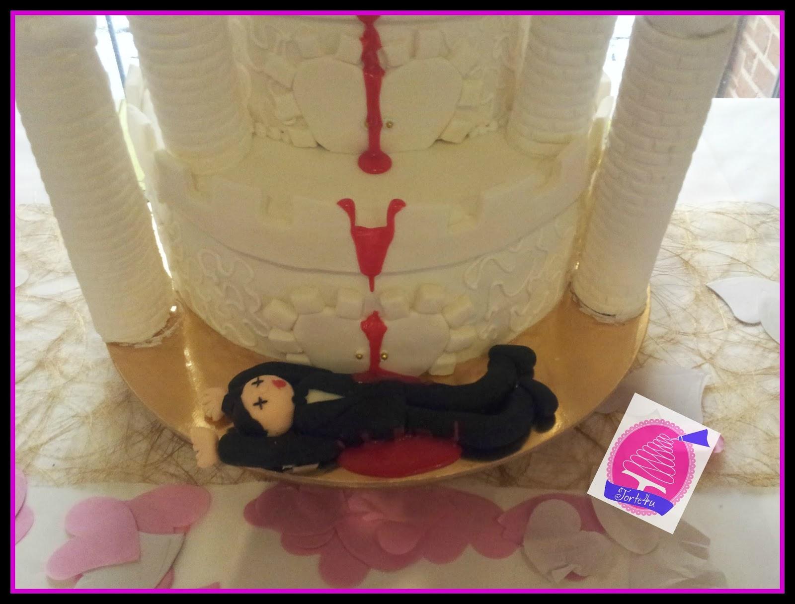 Torte4u Witzige Hochzeitstorte