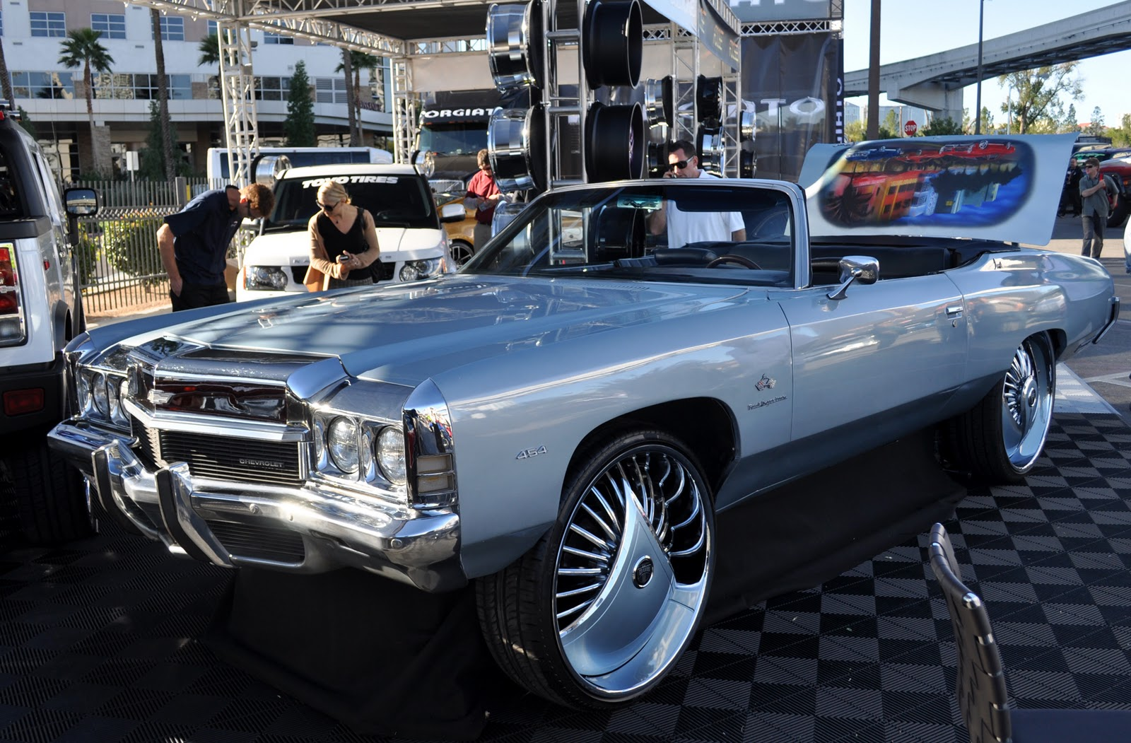 Just A Car Guy The Most Far Out Cool And Ridiculous Stuff I Came - Cool cars rims