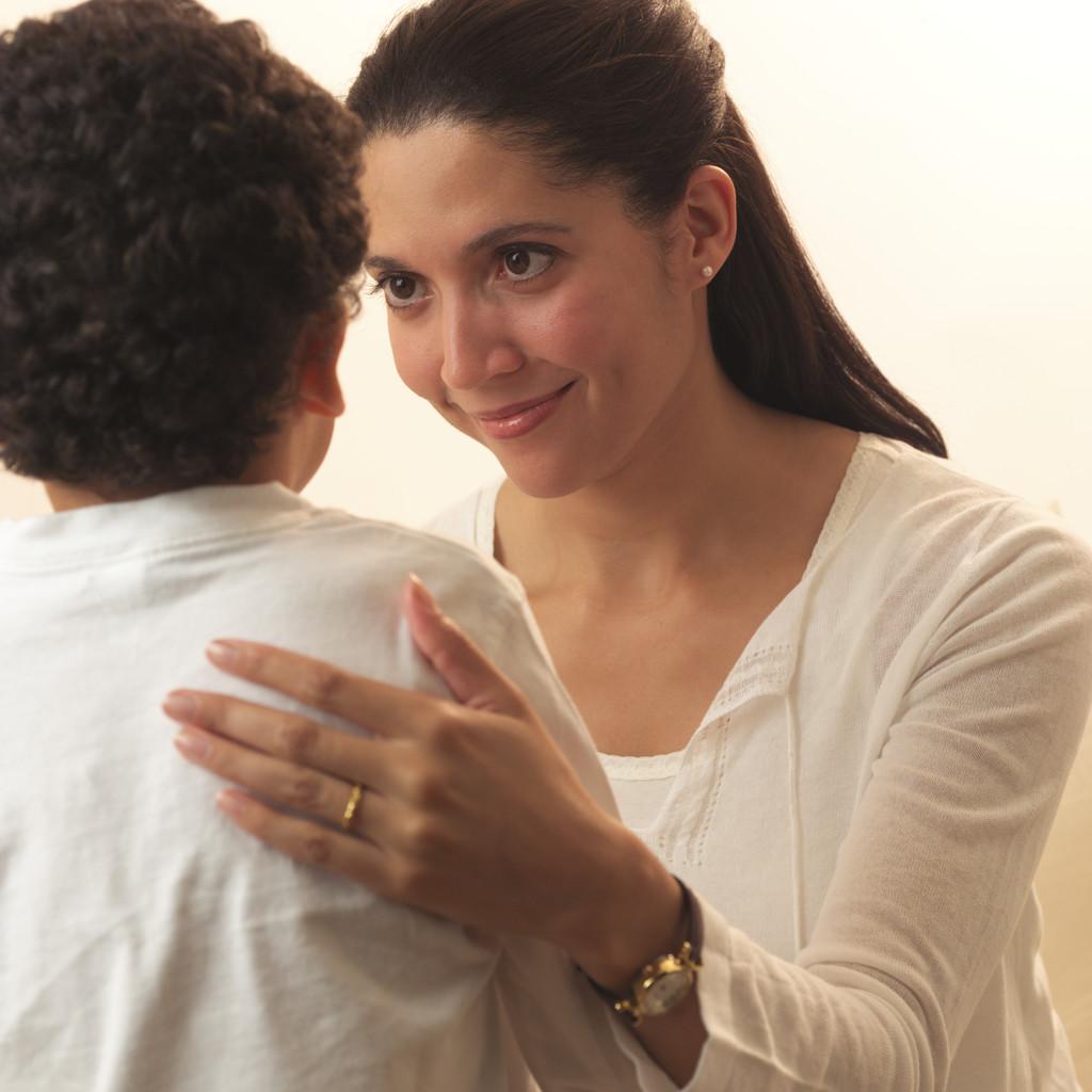 una madre y su hija: