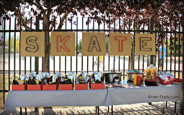 Skateboarding Party