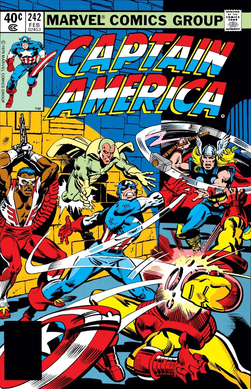 Captain America (1968) Issue #242 #157 - English 1