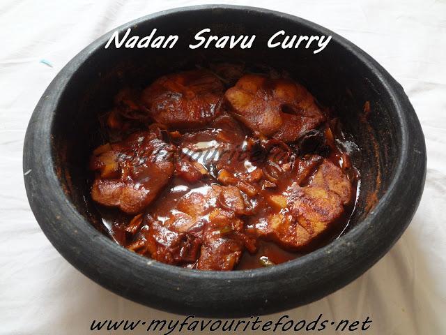 nadan sravu curry