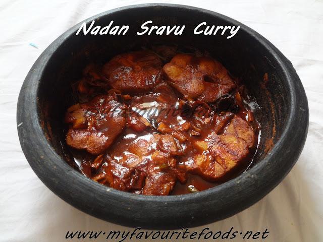nadan sravu curry