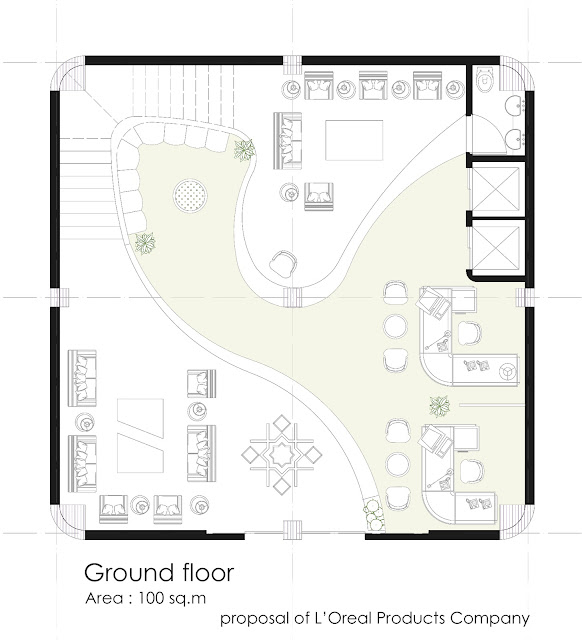 Floor plan of ground floor