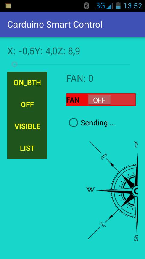 Arduino Control Motion