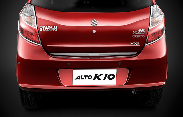 Maruti Suzuki Alto K10 Urbano Limited Edition Rear