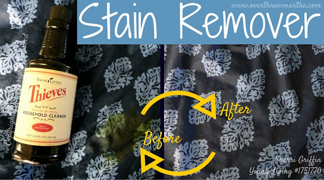 #nontoxic chemical free stain remover #DIY