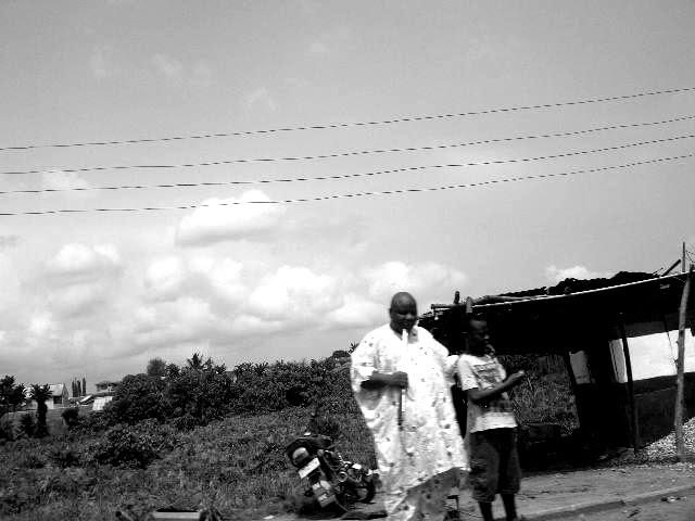 CA -man & kid- lagos / nigeria