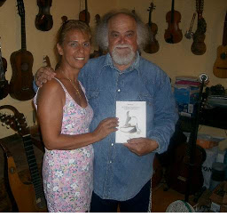Con Blas Sanchez, gran artista Grancanario.