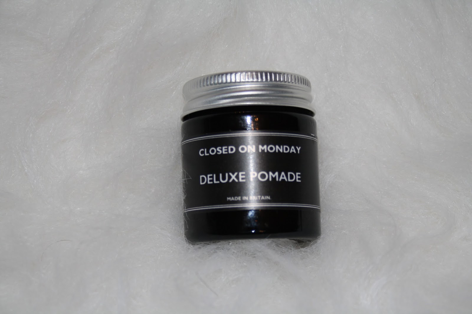 Closed on Monday Deluxe Pomade