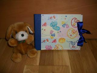 Álbum de fotos bebé cartonnage