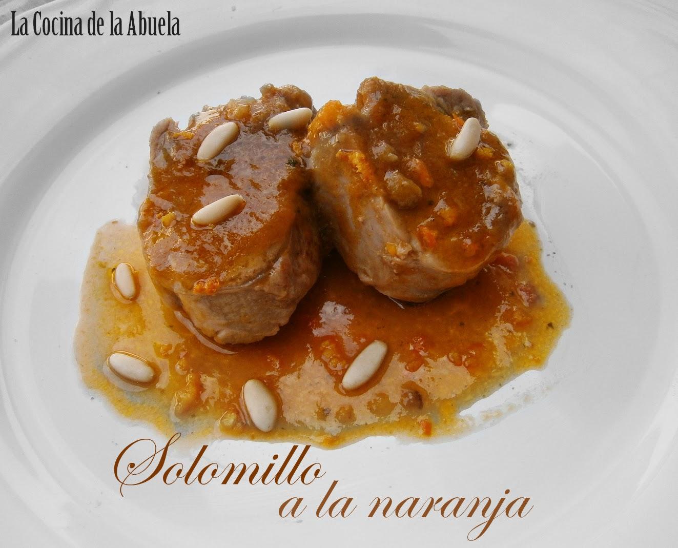Como Cocinar El Solomillo De Cerdo | Solomillo De Cerdo A La Naranja