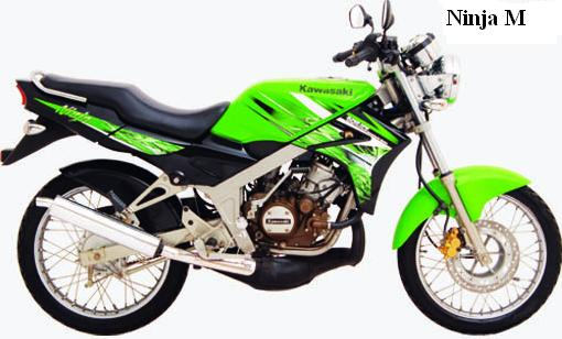 remove the ninja 150 m type from ninja 150cc list title=