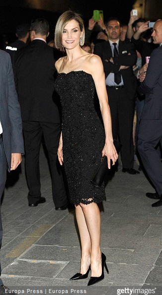 Queen Letizia of Spain attends 'Woman Awards' at Casino de Madrid on April 20, 2015 in Madrid, Spain
