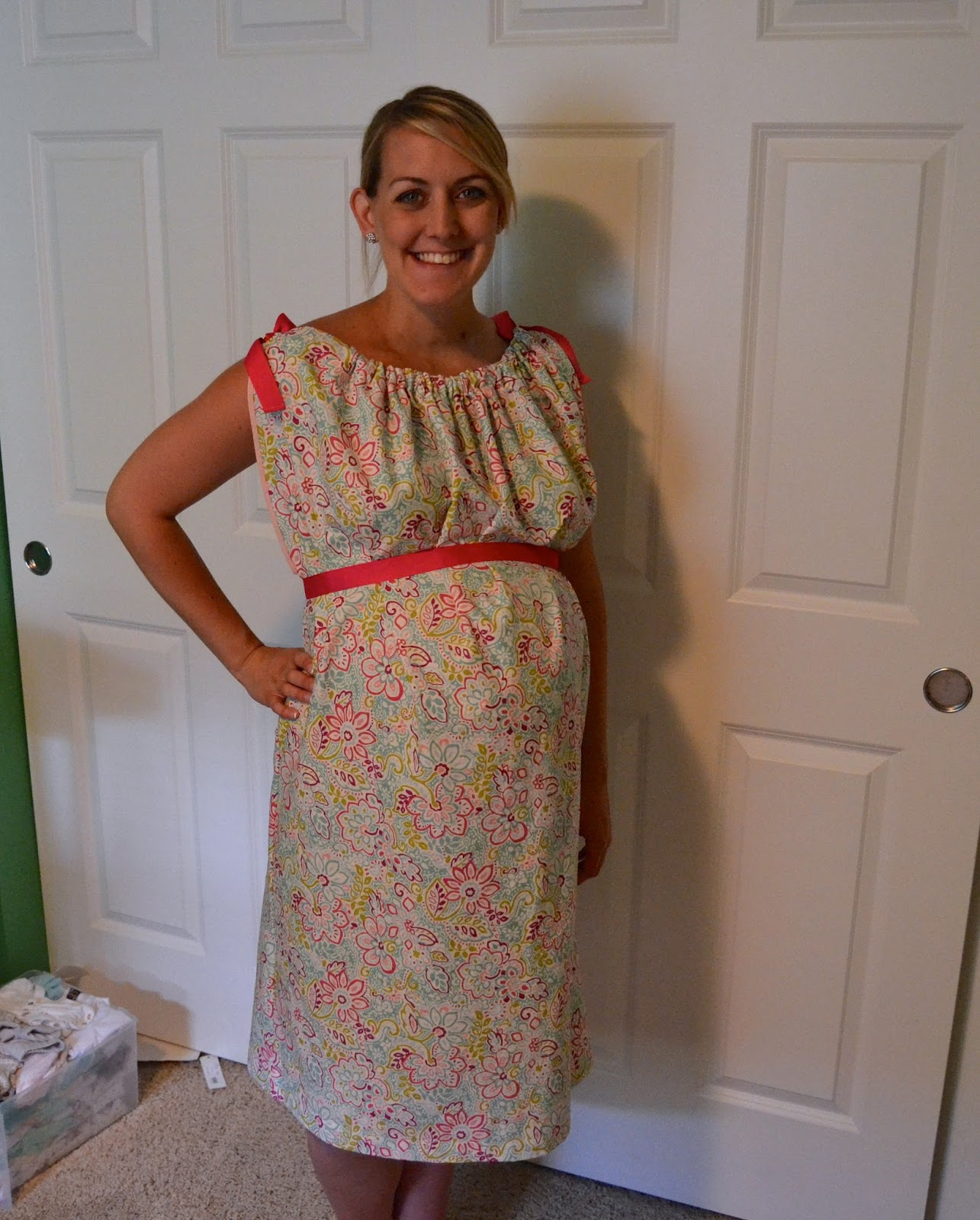 Growing Up Lanese: DIY Hospital Labor & Delivery Gown