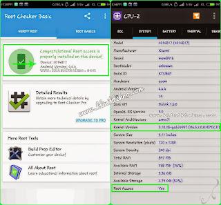 Rooting & Install CWM Xiaomi Redmi 2 MIUI v6.5.2.0 KHJMICD