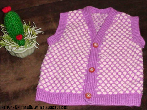 Aster baby sweater   |  knittingunlimited.blogspot.com