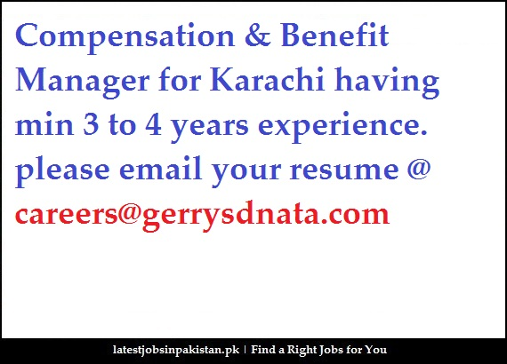 resume compensation and benefits manager 43 compensation and