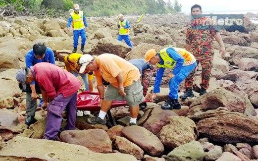 Adik beradik bertarung nyawa di tengah samudera dalam satu kejadian di Santubong