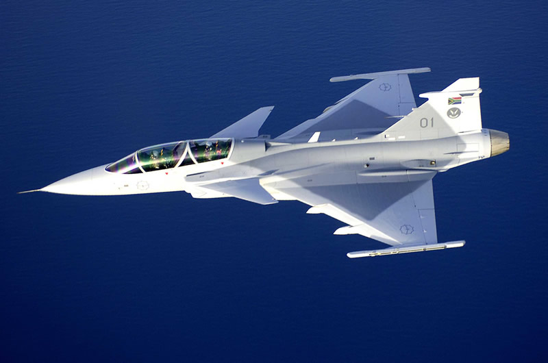 Jet Airlines: Saab Jas 39 Gripen Fighter Jet