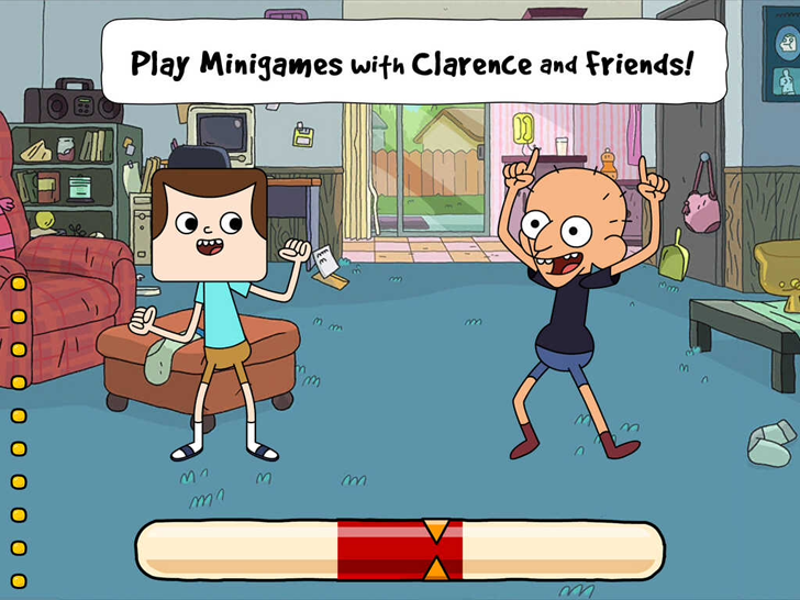 Clarence's Amazing Day Out Free App Game By Cartoon Network