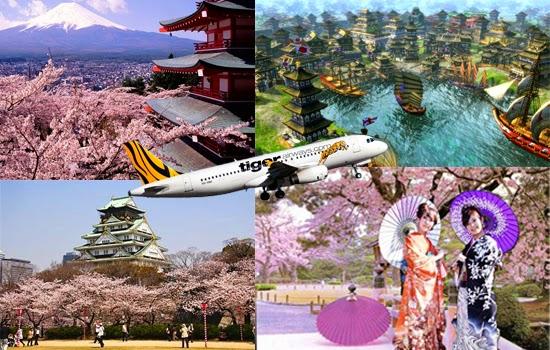 Vé máy bay Tiger Airways đi Nhật Bản