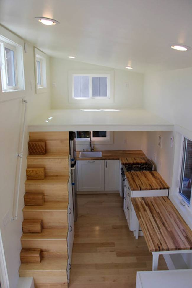 Modern Tiny Home Boasts A Big Kitchen For Foodies Treehugger