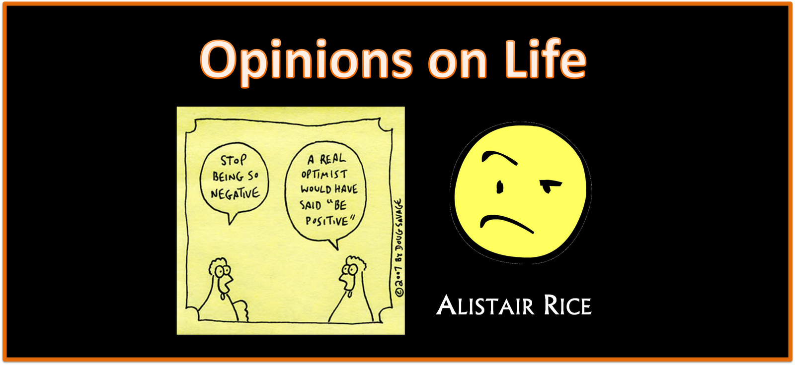 Opinions on Life