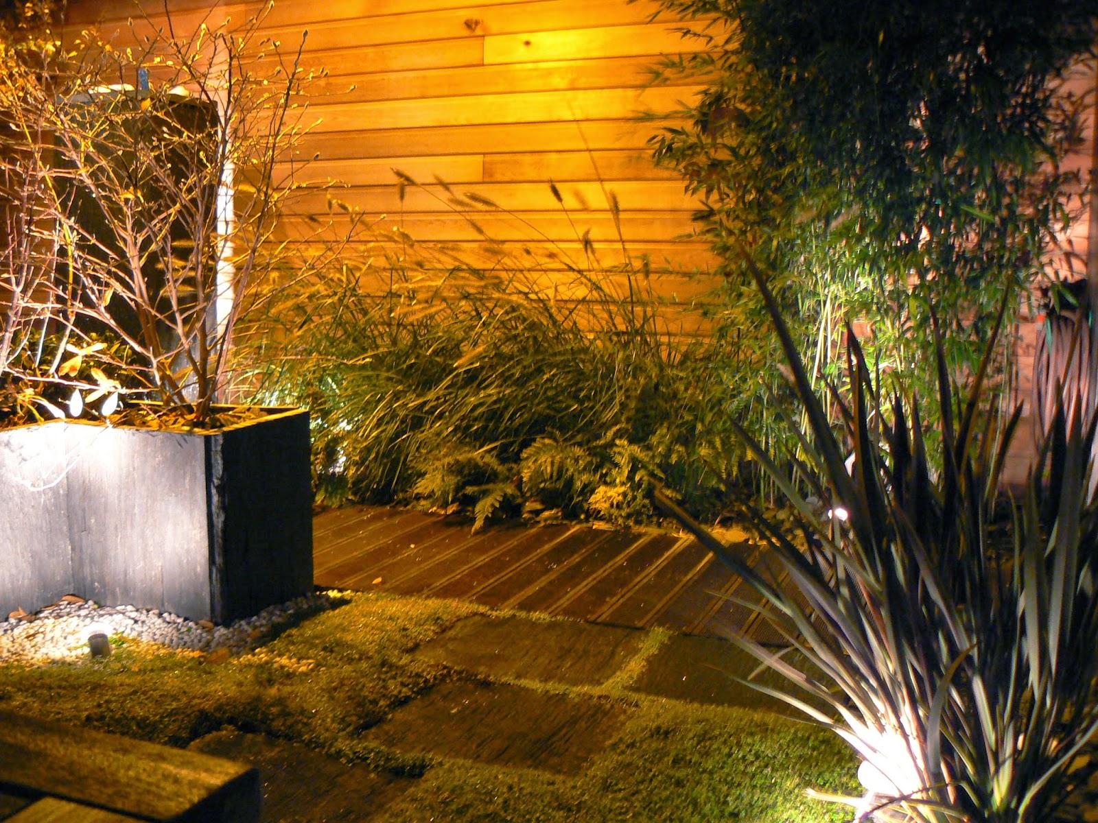 Eclairage de jardin paysagiste val d 39 oise cr ation for Etre paysagiste