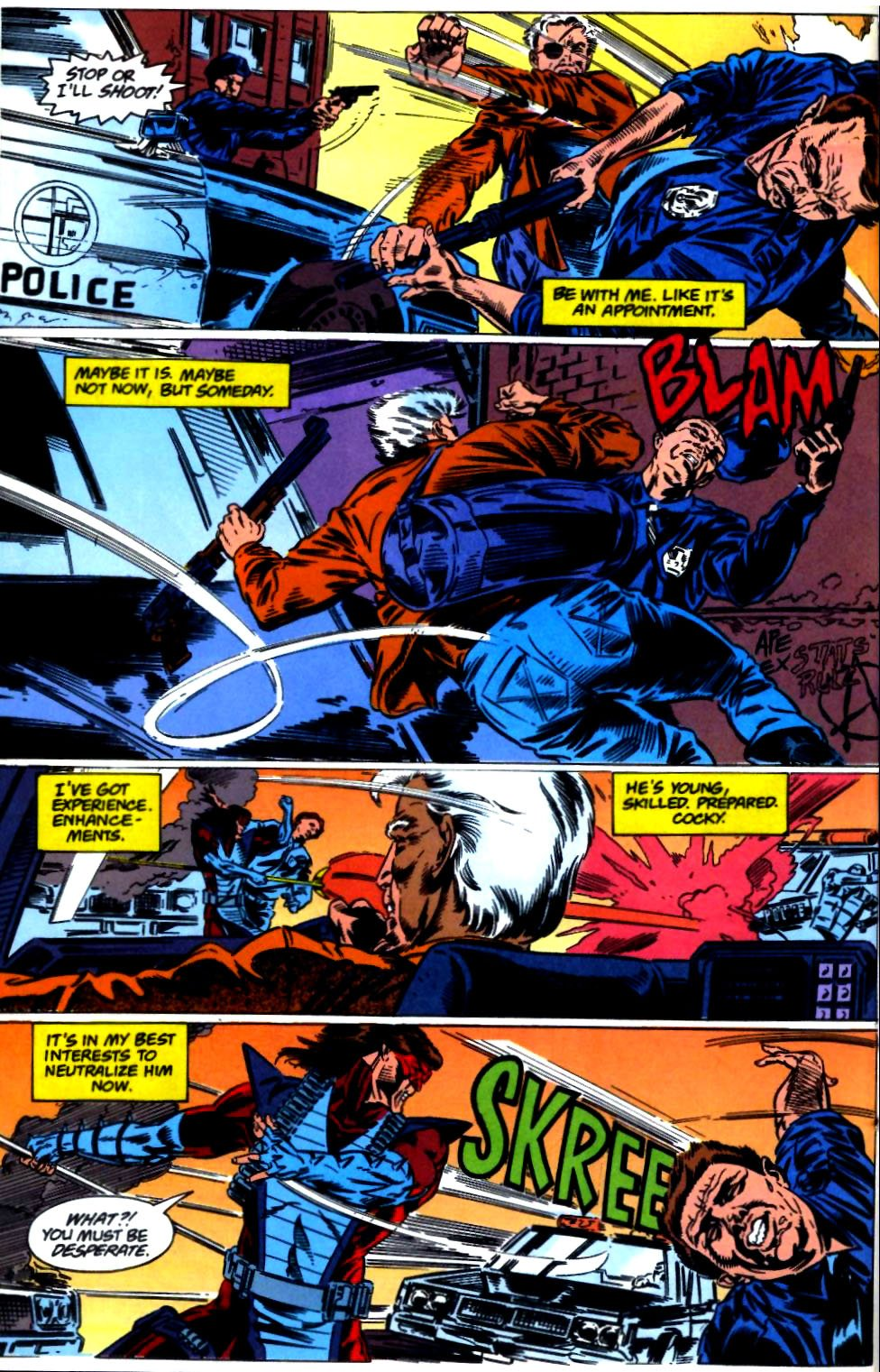 Deathstroke (1991) Issue #23 #28 - English 11