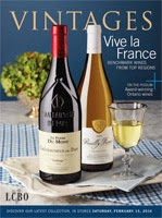 LCBO Wine Picks from February 15, 2014 Vintages Magazine