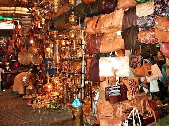 Berber Souk in Marrakech
