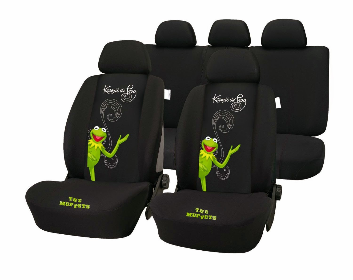 Kermit Frog Car Seat Covers