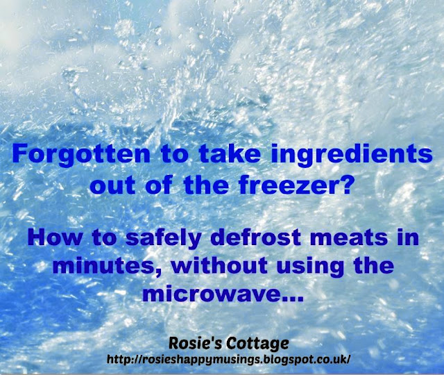How to quickly and safely defrost meat from your freezer