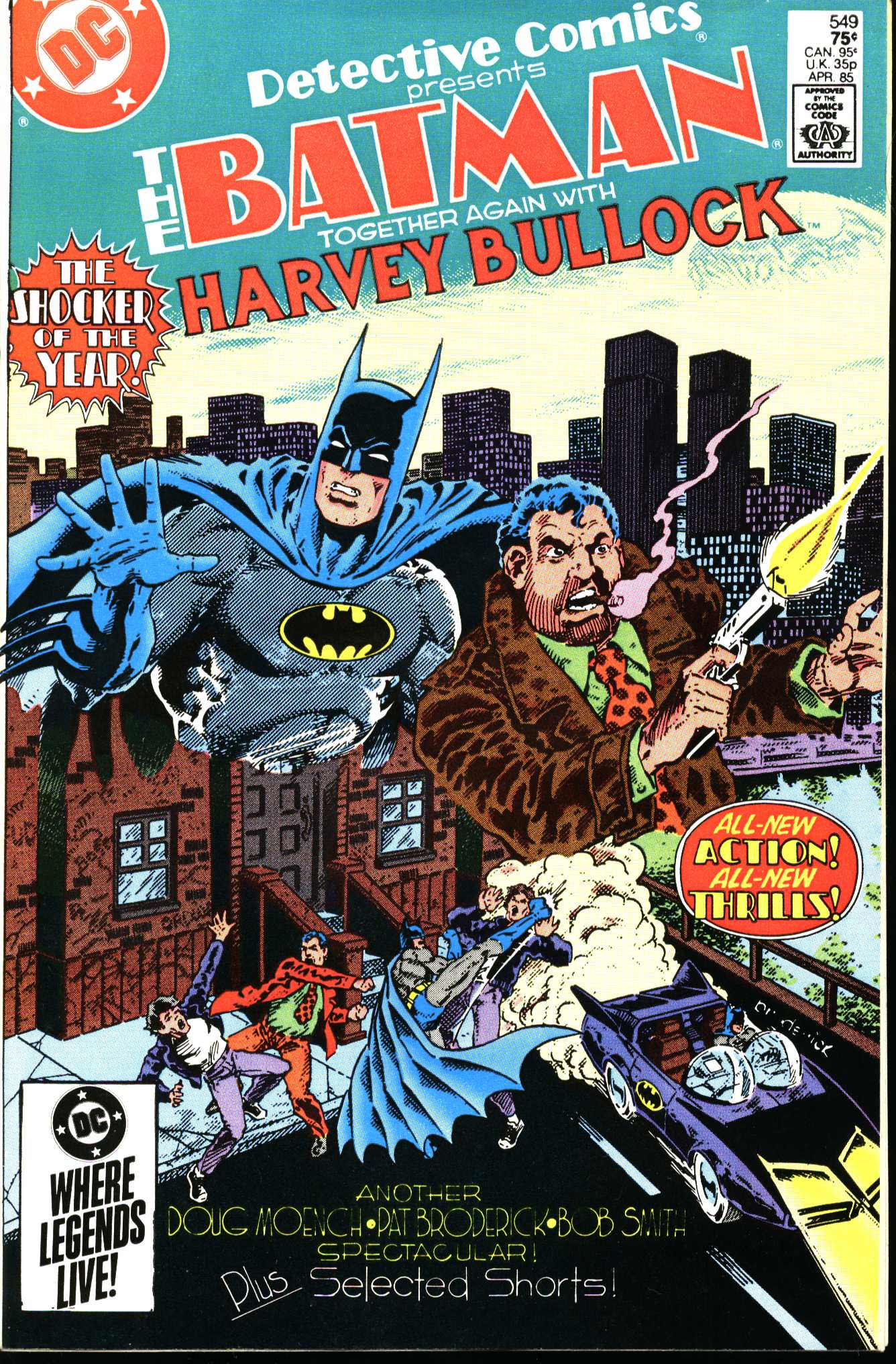 Detective Comics (1937) Issue #549 Page 1