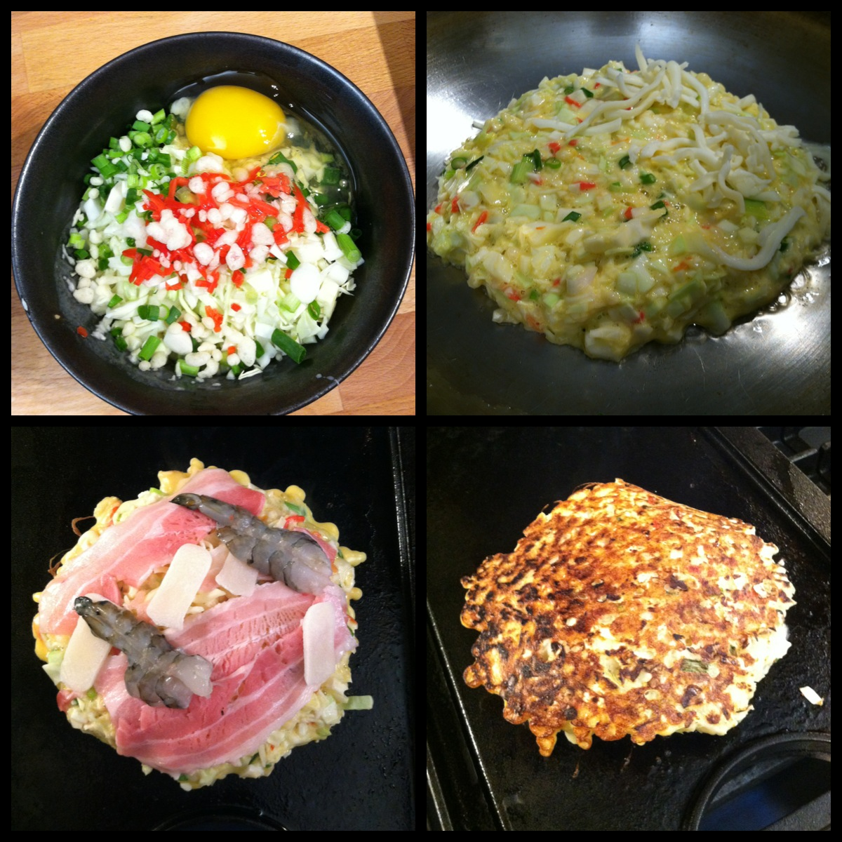 Gourmet Pigs: Learning to Make Okonomiyaki! (Recipe)