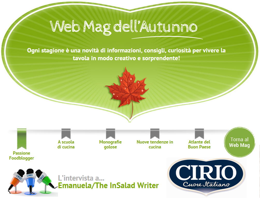 Cirio, web-mag, autunno, intervista
