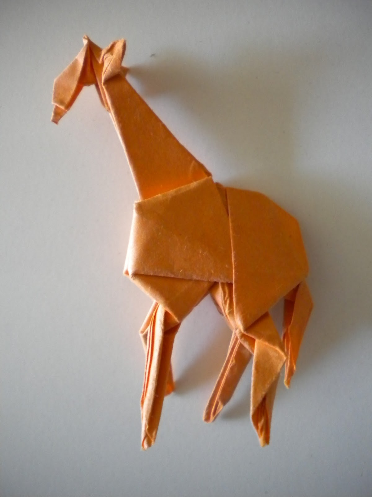 Curious Charisma Origami Giraffe Diagram This Armadillo Was Quite Enjoyable To Make From The Large Opened Ears Pleated Body Armour Folds I Believe Is First Model Ive Folded By