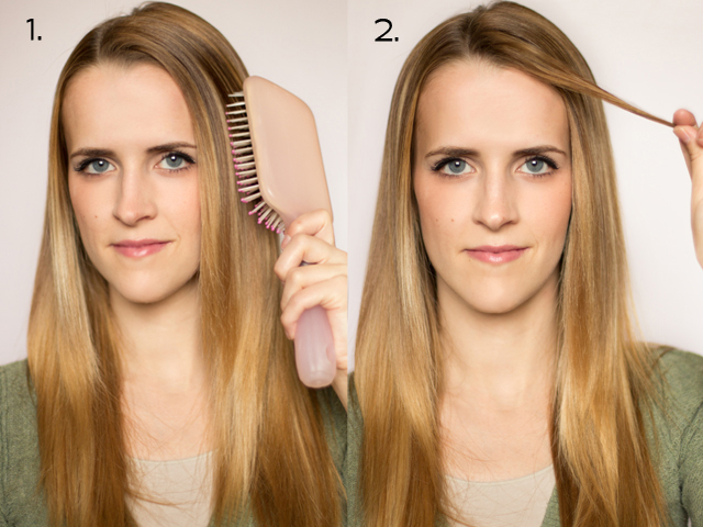 How to Make Curls With a Flat Iron Flat Iron Curls Here 1