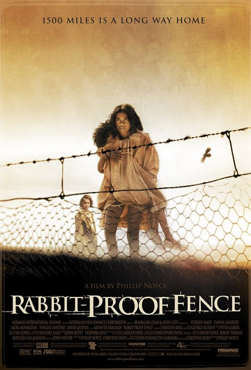 """phillip noyce rabbit proof fence essays In the novel """"swallow the air"""" (tara june winch 2006) and the movie """"rabbit-proof fence"""" (phillip noyce 2002) more essays _rabbit proof fence_ by."""