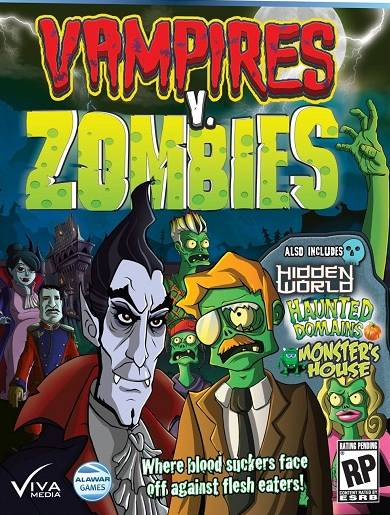 Vampiros Vs Zombies [Español] [Full] [DF]
