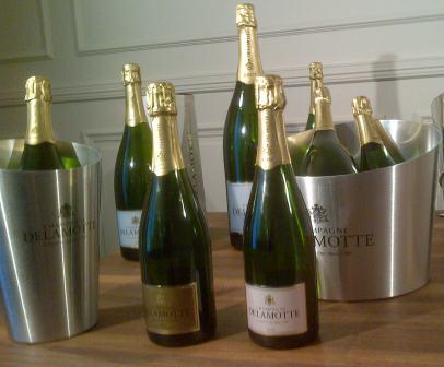 194kpr champagne in barcelona with salon delamotte for Champagne delamotte