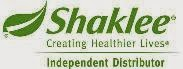 I am your Shaklee Independent Distributor [ID: 913464]