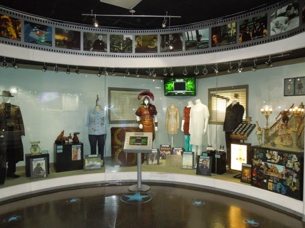 NBC Universal Experience costume and prop exhibit