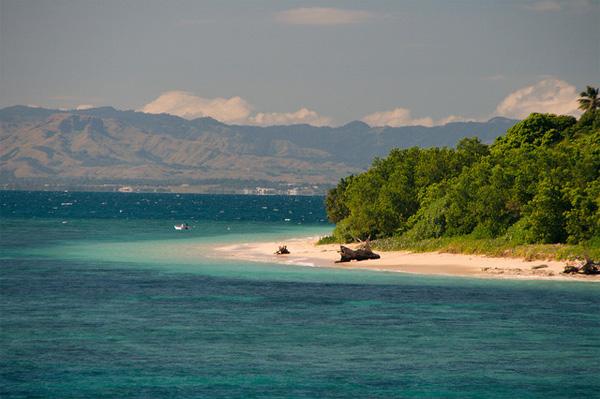 Traumstrand auf den Fiji Inseln
